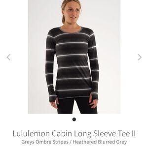 Lululemon Cabin reversible shirt